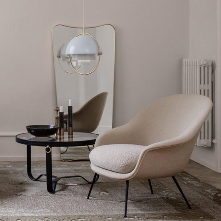 Gubi Bat Lounge Conic Chair Low