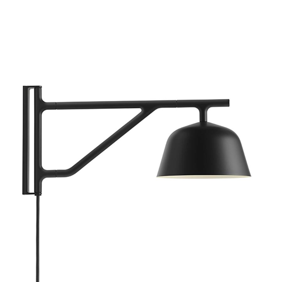 Muuto Ambit Wall Lamp in black
