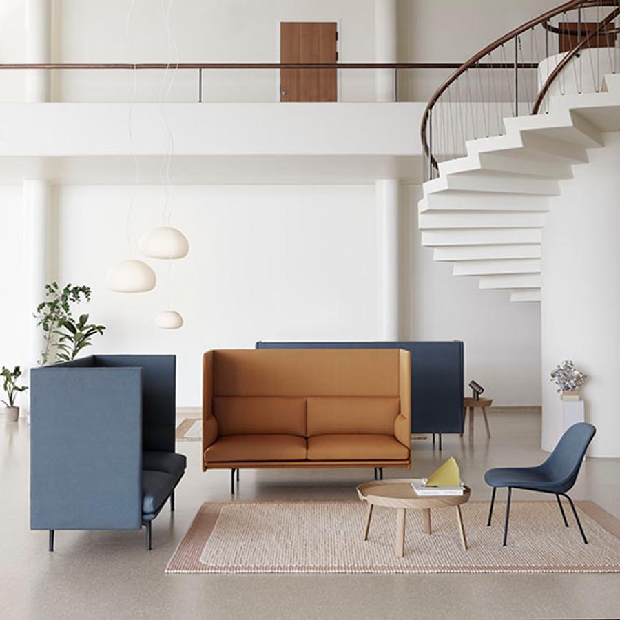 Muuto Fiber Lounge Chair Tube Base