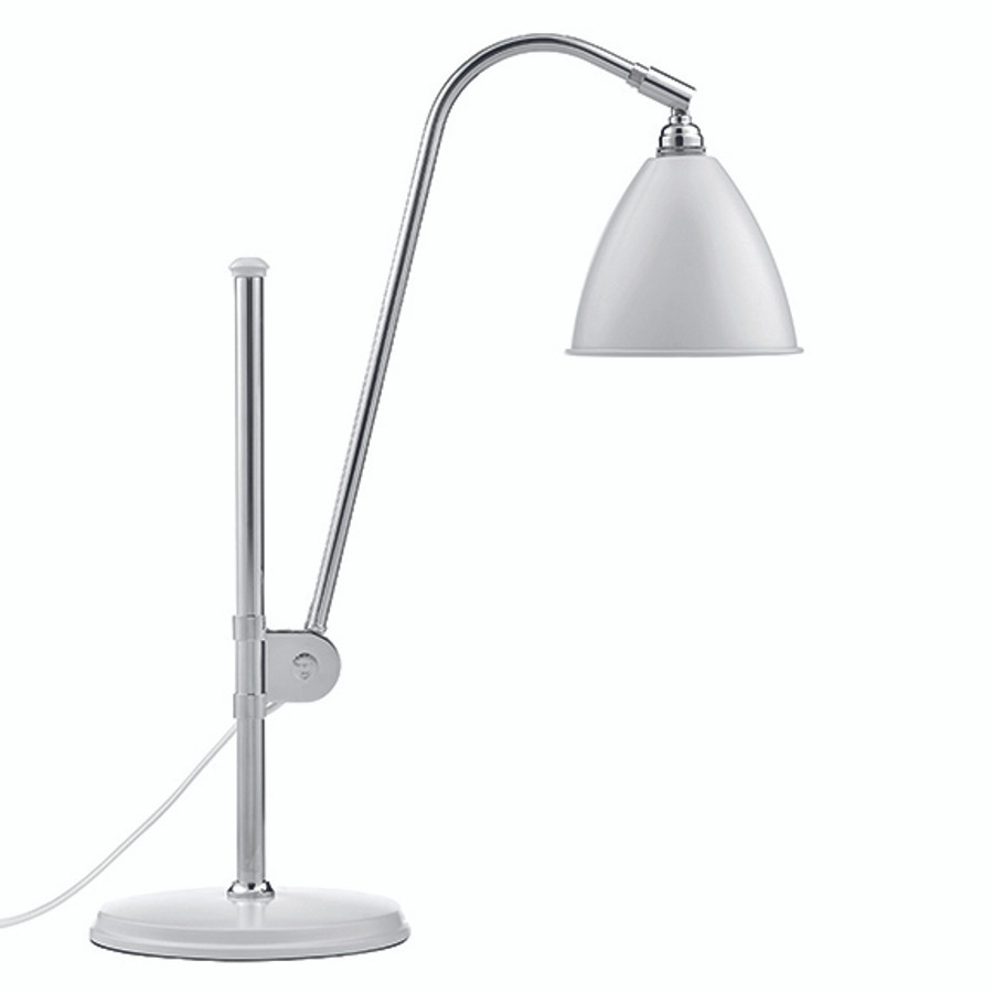 Gubi Bestlite Table Lamp BL1 in matt white/chrome