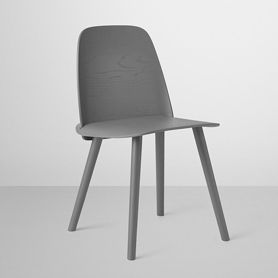 Muuto Nerd Chair in dark grey