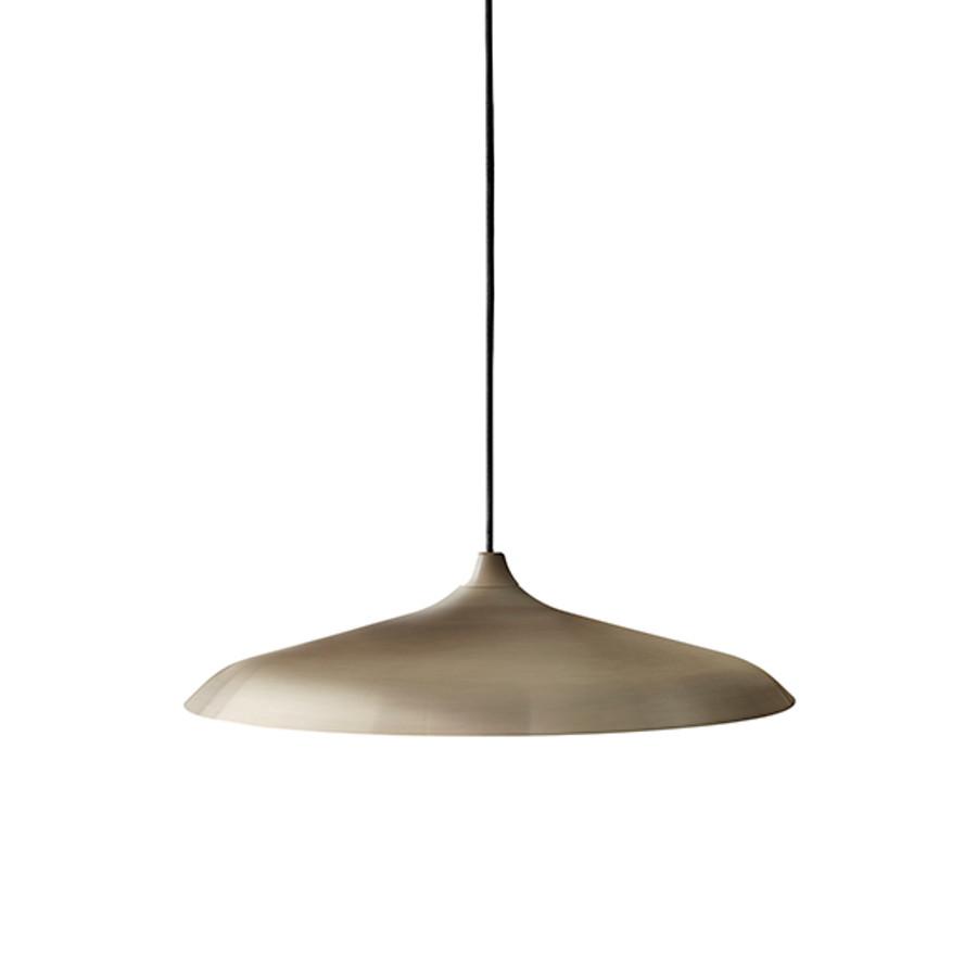 Menu | Circular Lamp Brushed Bronze