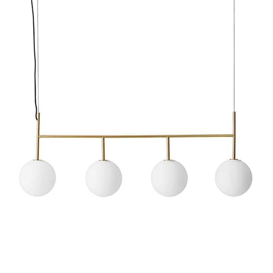 Menu | TR Bulb, Suspension Frame Brushed Brass