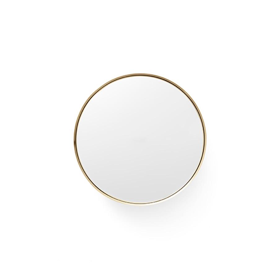 Menu   Darkly Mirror Brushed Brass