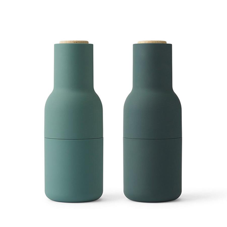 Menu   Bottle Grinder Dark Green