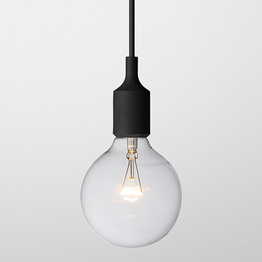 Muuto E27 pendant lamp in black