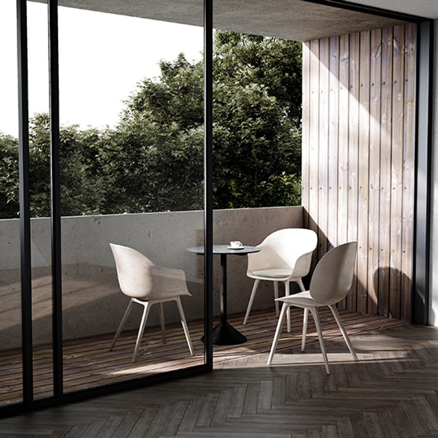 Gubi  |  Beetle Dining Chair Plastic Base