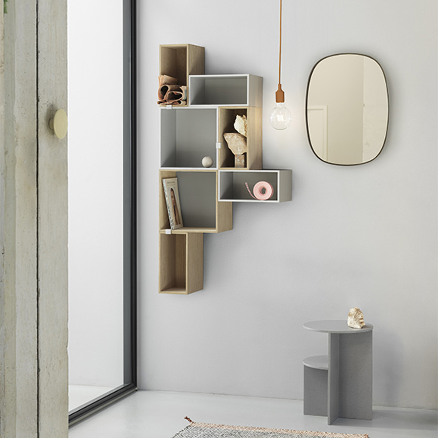 Muuto shelves brighten any room and add more character