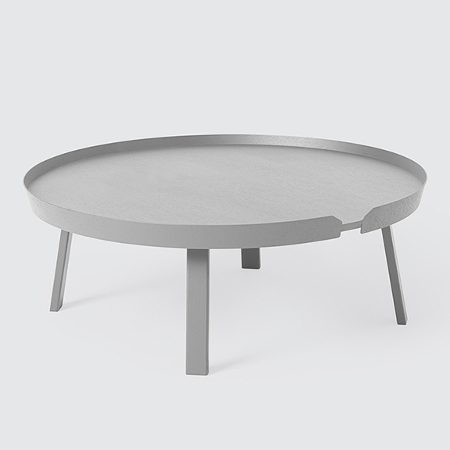 Muuto Around Coffee Table X-Large in grey