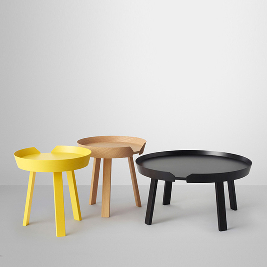 Muuto Around Coffee Table, designed by Thomas Bentzen