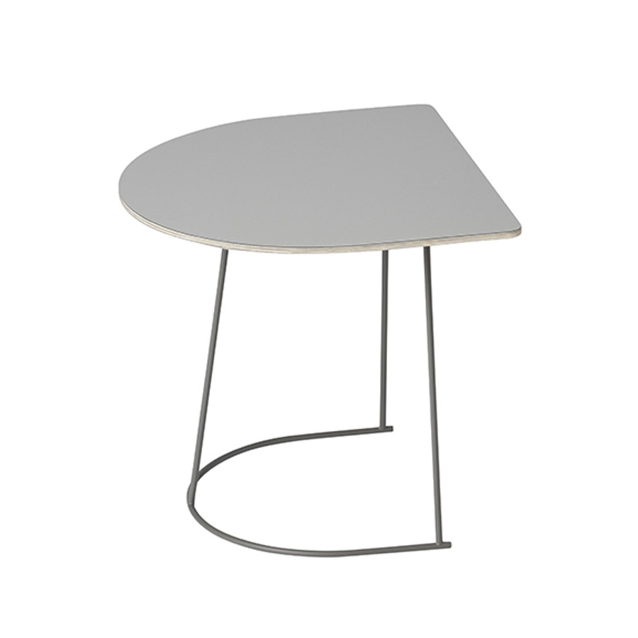 Muuto Airy Half Table in grey