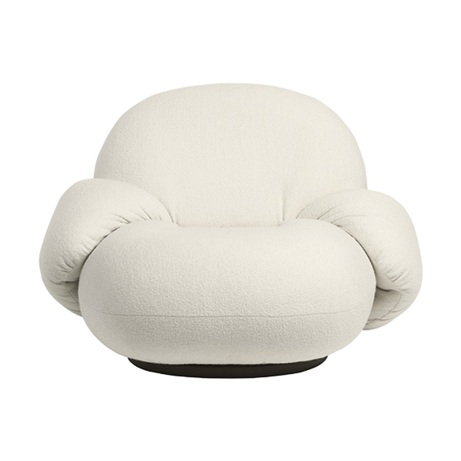 Gubi  |  Pacha Lounge Chair with Armrest