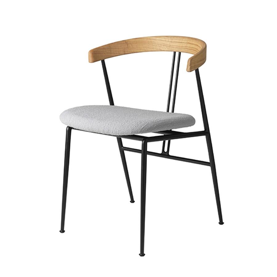 Gubi     Violin Chair Seat Upholstered