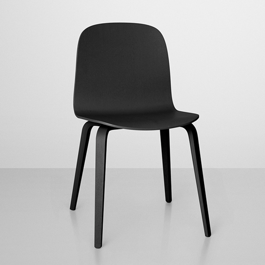 Visu chair in black