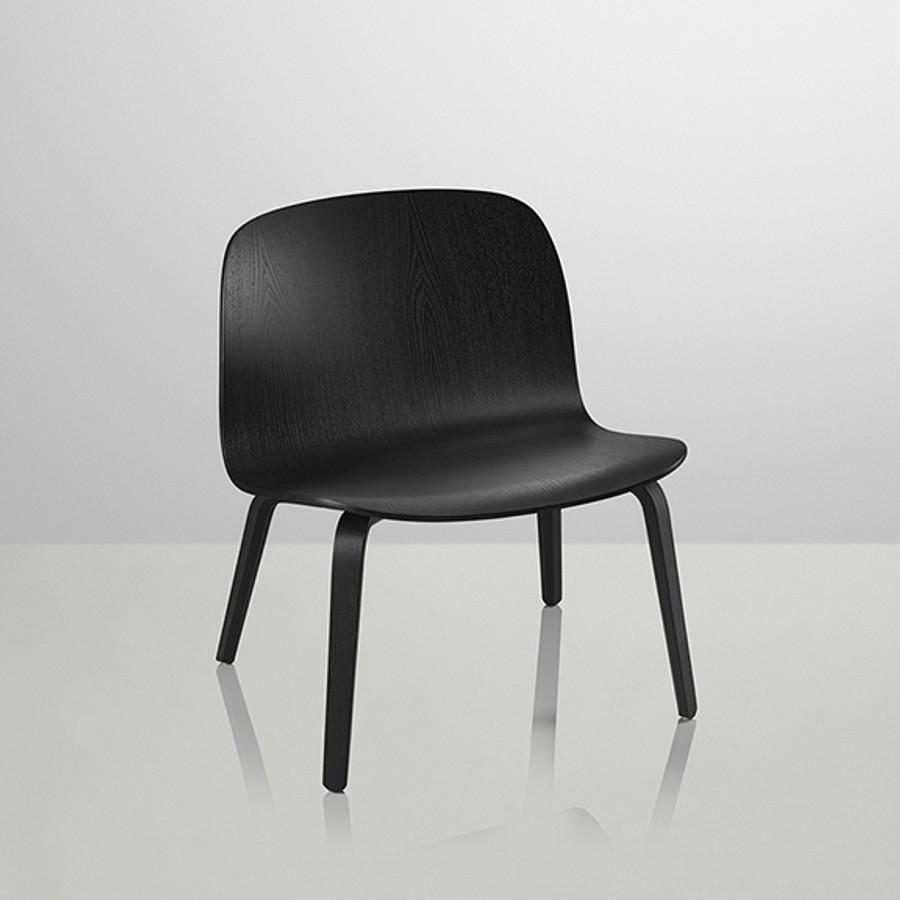 Muuto Visu Lounge Chair in Black