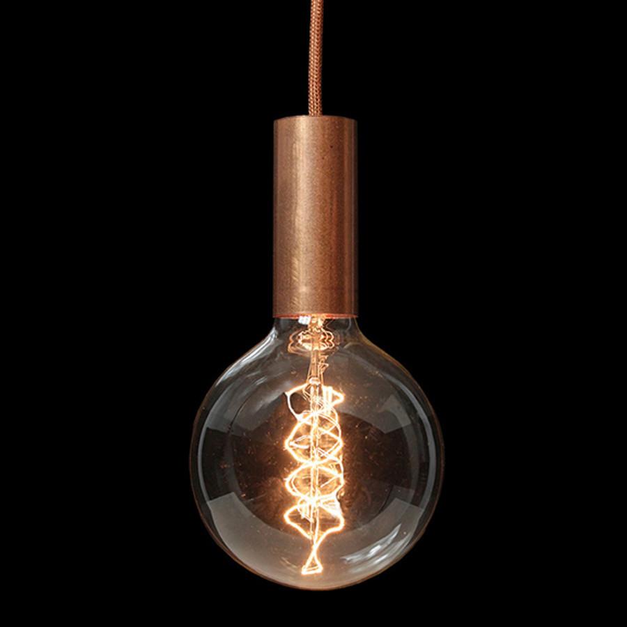 Aqua pendant shown with TT16 copper cord