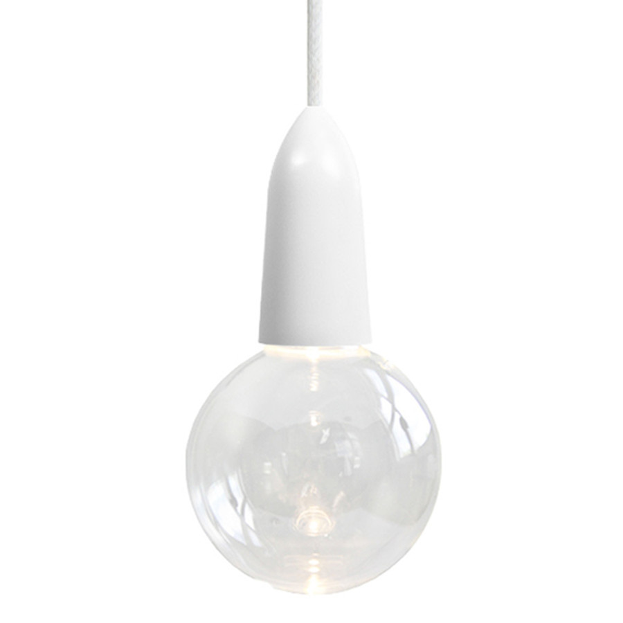 LED Clear Bulb With Cord And Socket