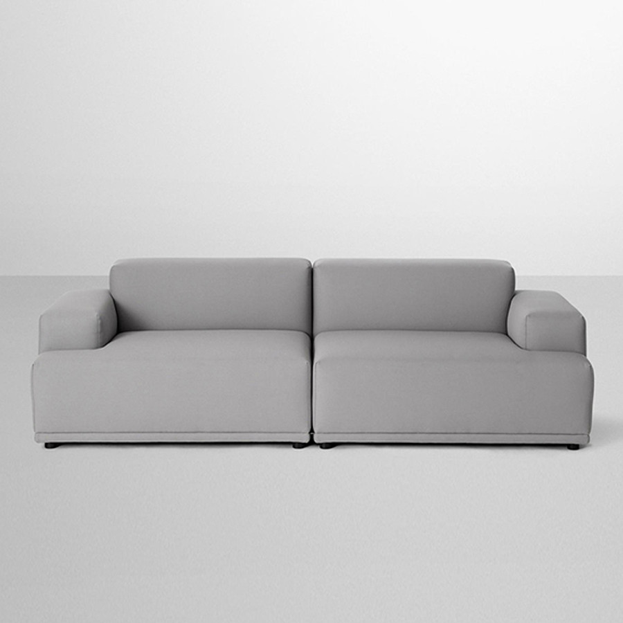 Connect Sofa configuration in steelcut trio 133 priced at $5390