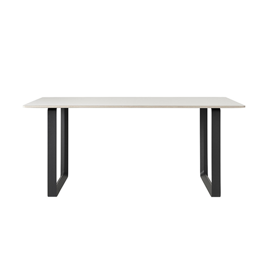 Muuto 70/70 Table in White/Black