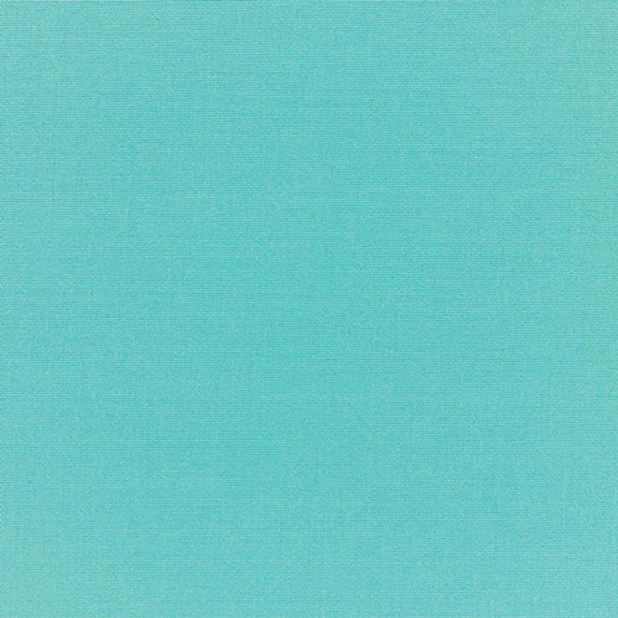 The Sunbrella Canvas Turquoise Sea fabric boasts a lovely shade of turquoise