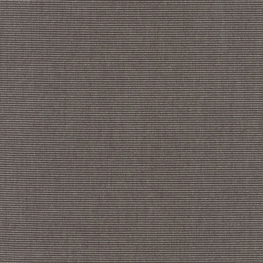 The Sunbrella Canvas Iron Ore fabric offers an ideal mix of black and grey.