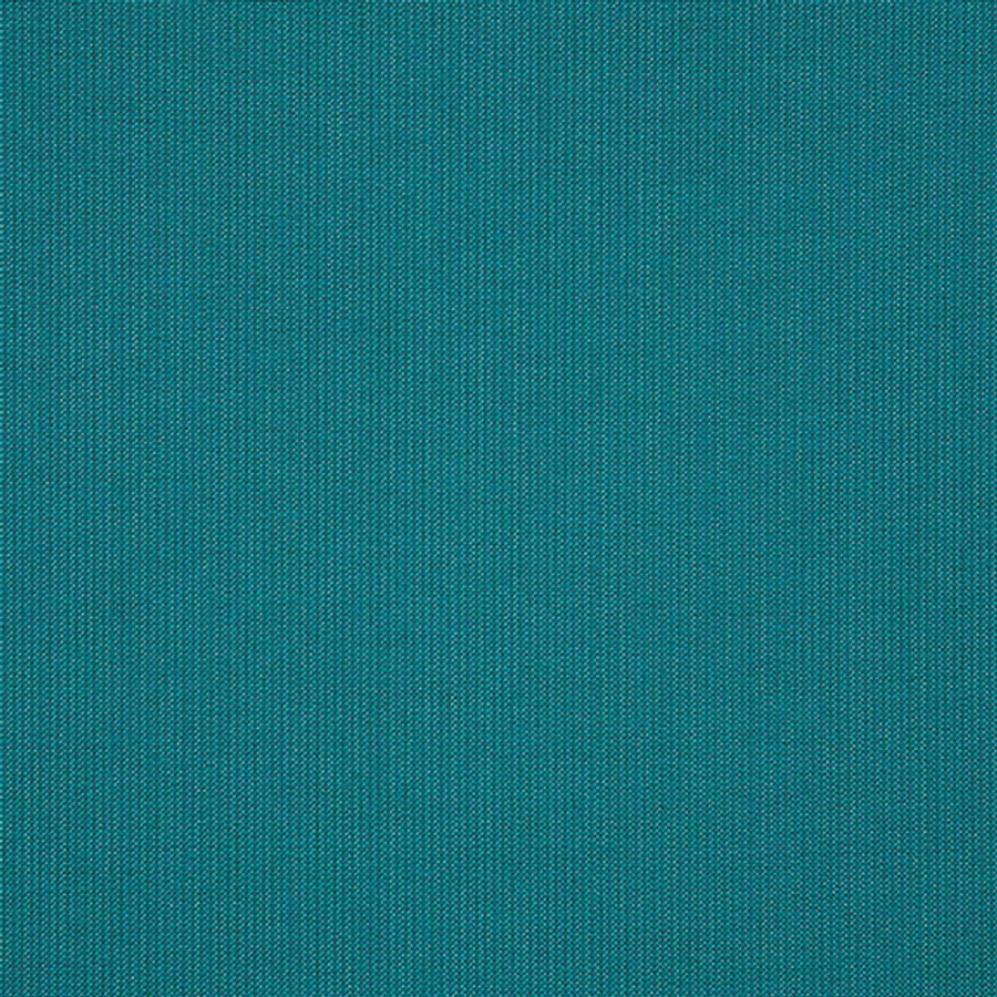 The Sunbrella Spectrum Turquoise Jewell fabric boasts an excellent mix of blue and green.