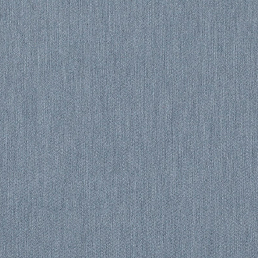 The Sunbrella Natte Glacier Chine fabric offers an excellent blend of blue and grey
