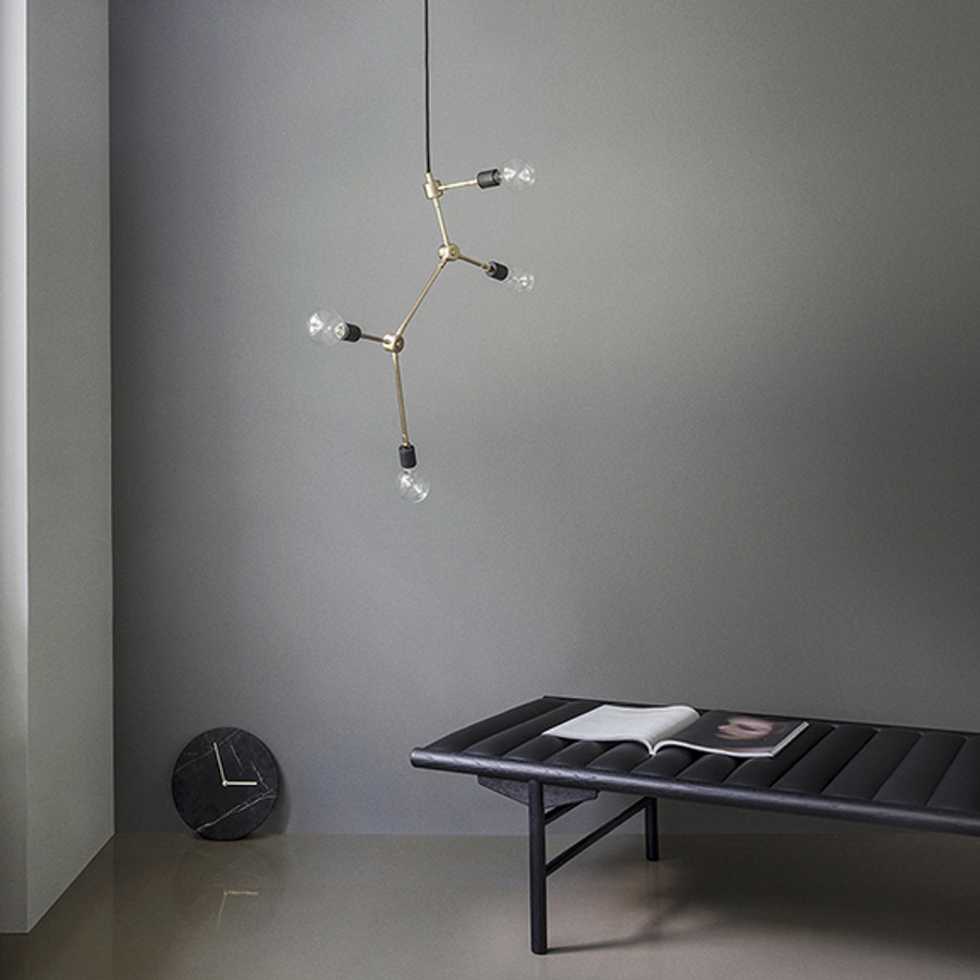 Franklin Chandelier by Menu is one of the Tribeca series pendants