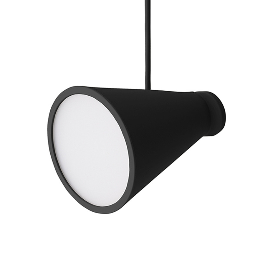 Menu Bollard Lamp in Black