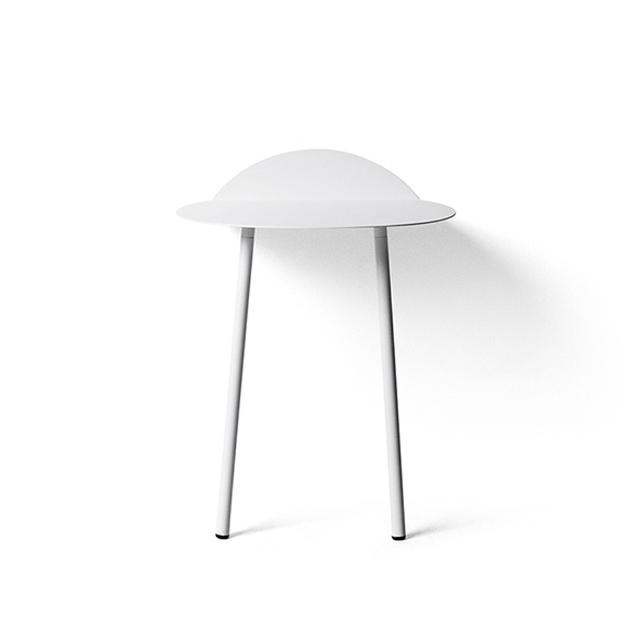 Menu Yeh Table in Low, White