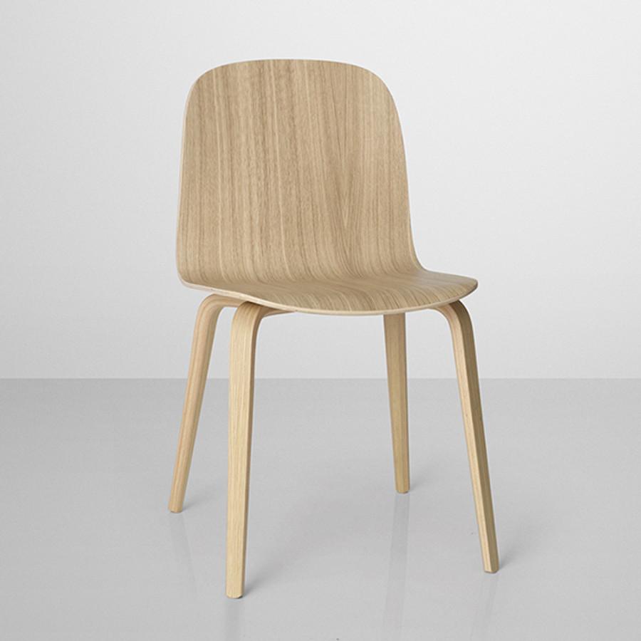 Visu chair in oak