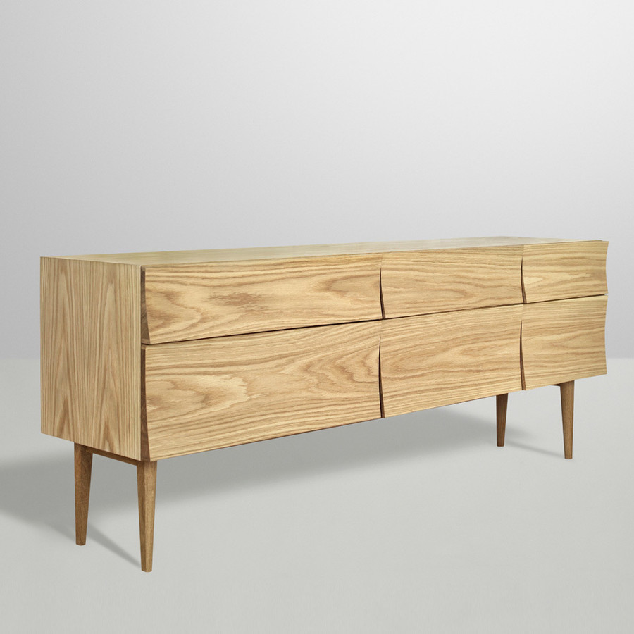 Muuto Reflect sideboard shown in oak
