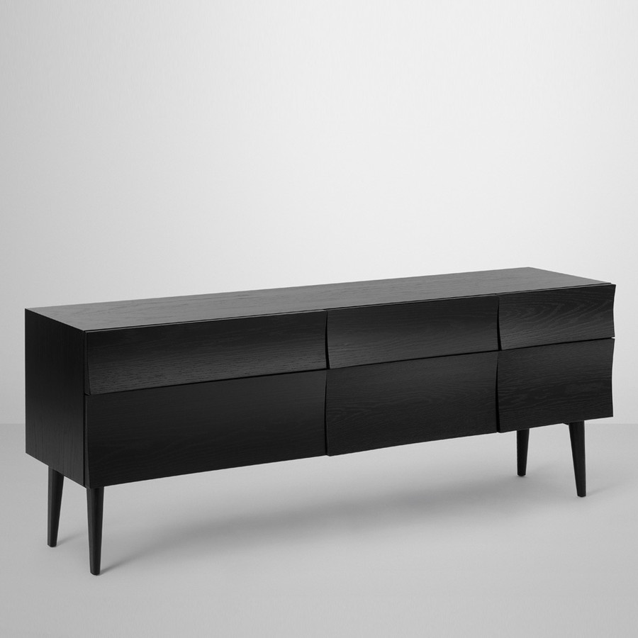 Muuto Reflect sideboard shown in black