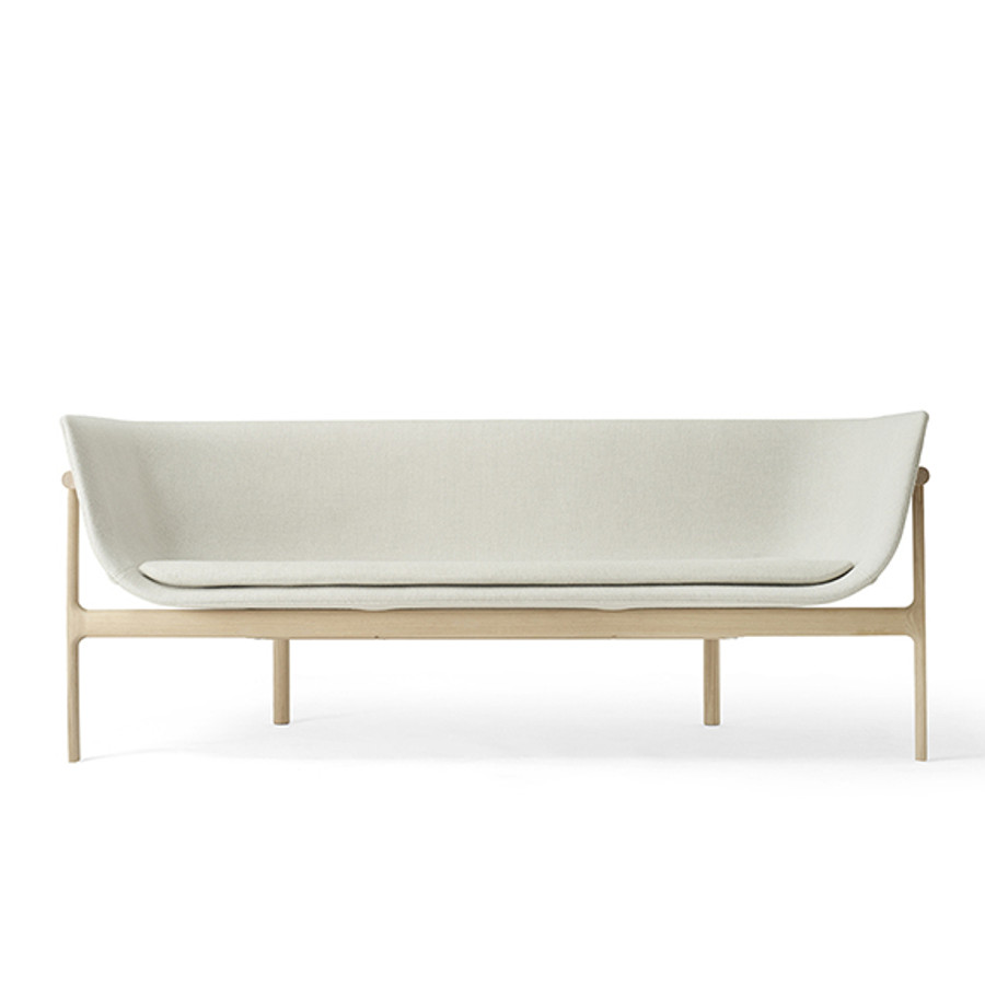 Menu Tailor Lounge Sofa in Natural Oak/Light Grey Hallingdal 65