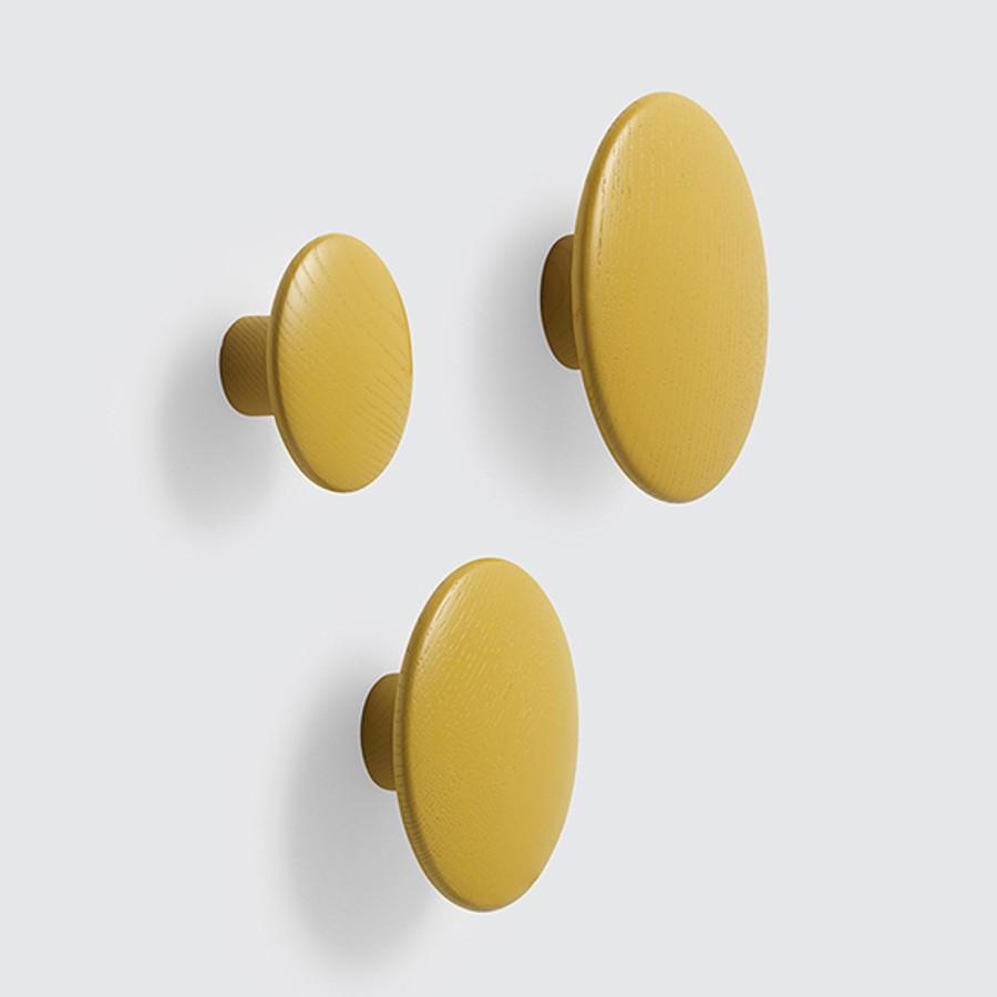 New Muuto dots in mustard