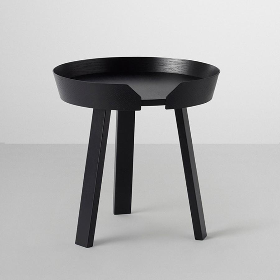 Muuto Around Coffee Table Black Surrounding Australia