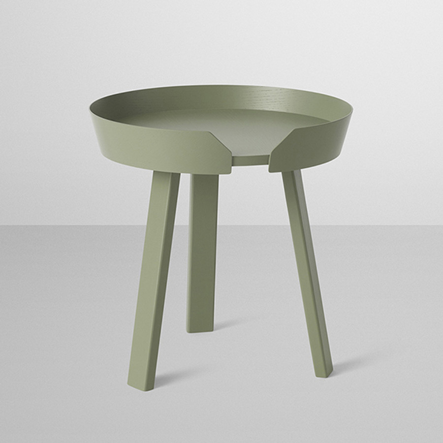 Muuto Around Table in dusty green