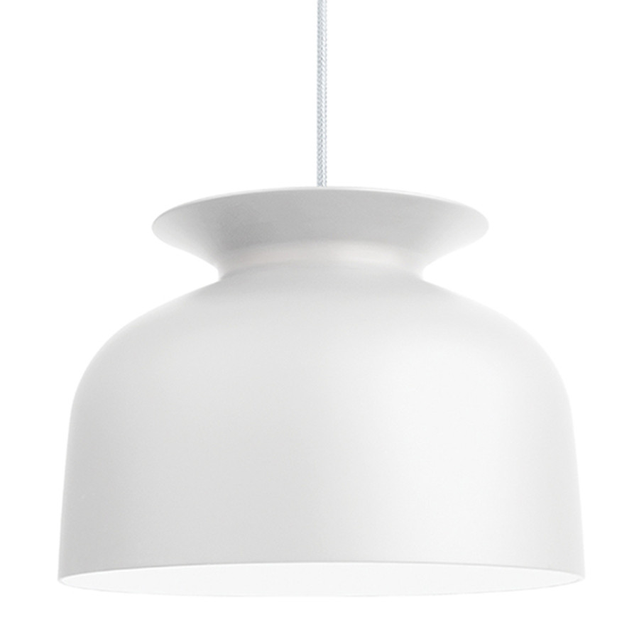 The Gubi Ronde Pendant Large in White