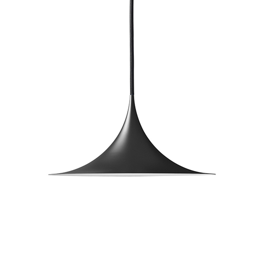 Gubi Semi Pendant 30cm in matt black