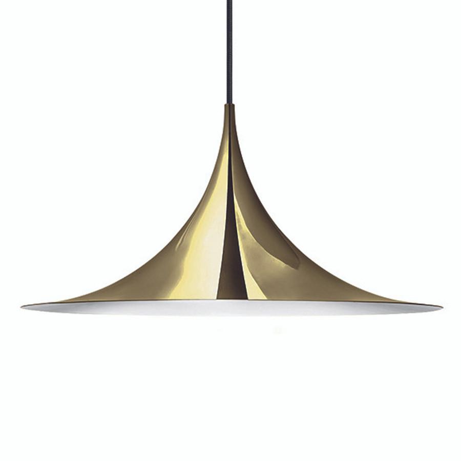 Gubi Semi Pendant 60cm in Brass