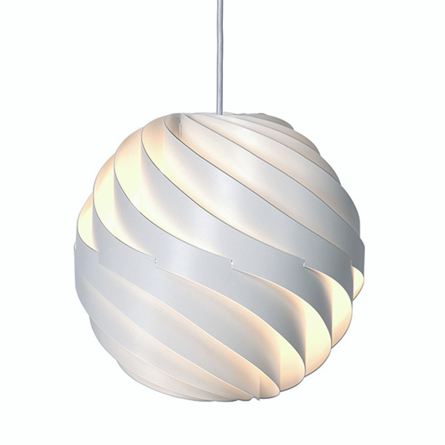 Turbo Pendant is available in two sizes.