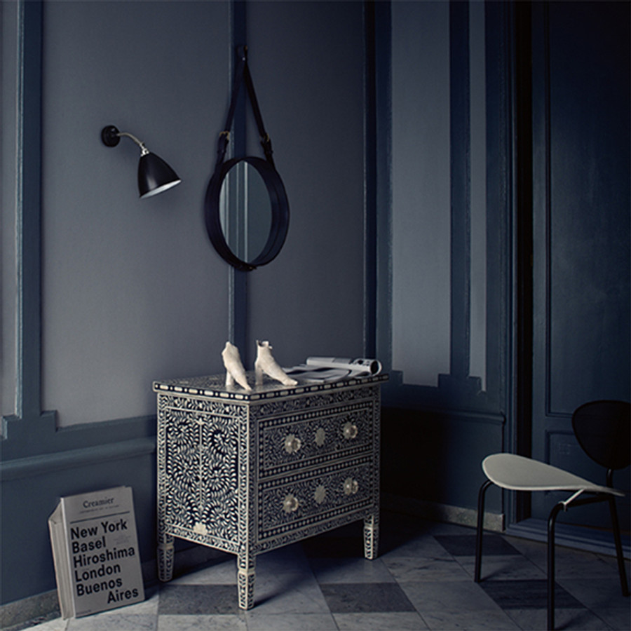 the Bestlite Wall Lamp by Gubi was designed by Robert Dudley Best