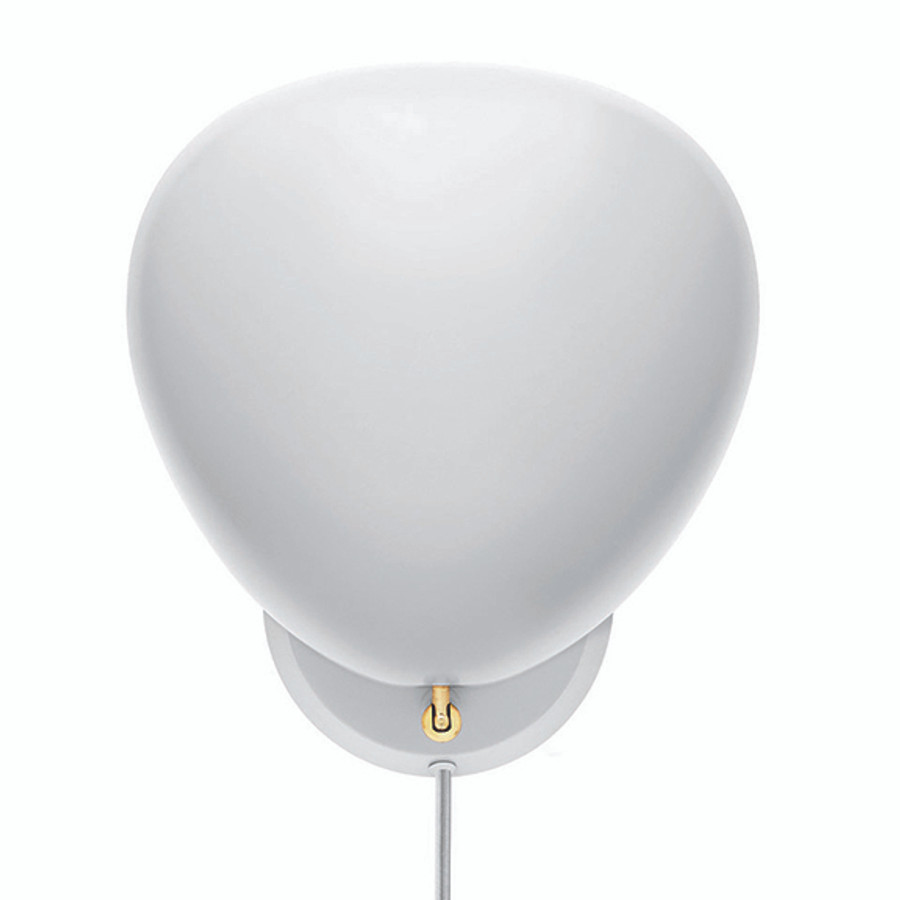 Gubi Cobra Wall Lamp in Matt White