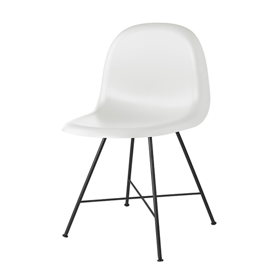 Gubi 1F Chair in white cloud