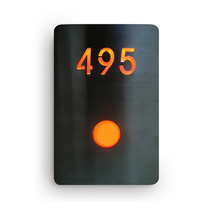 LED Doorbell Number Panel