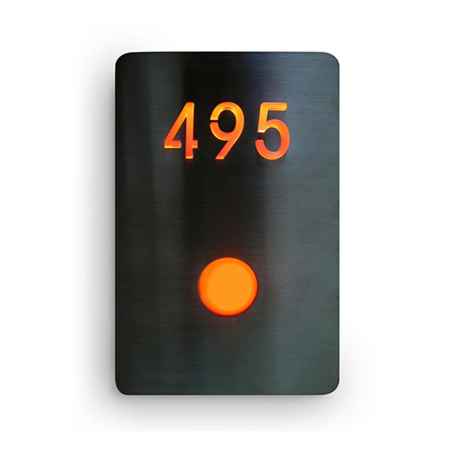 LED Doorbell Number Panel