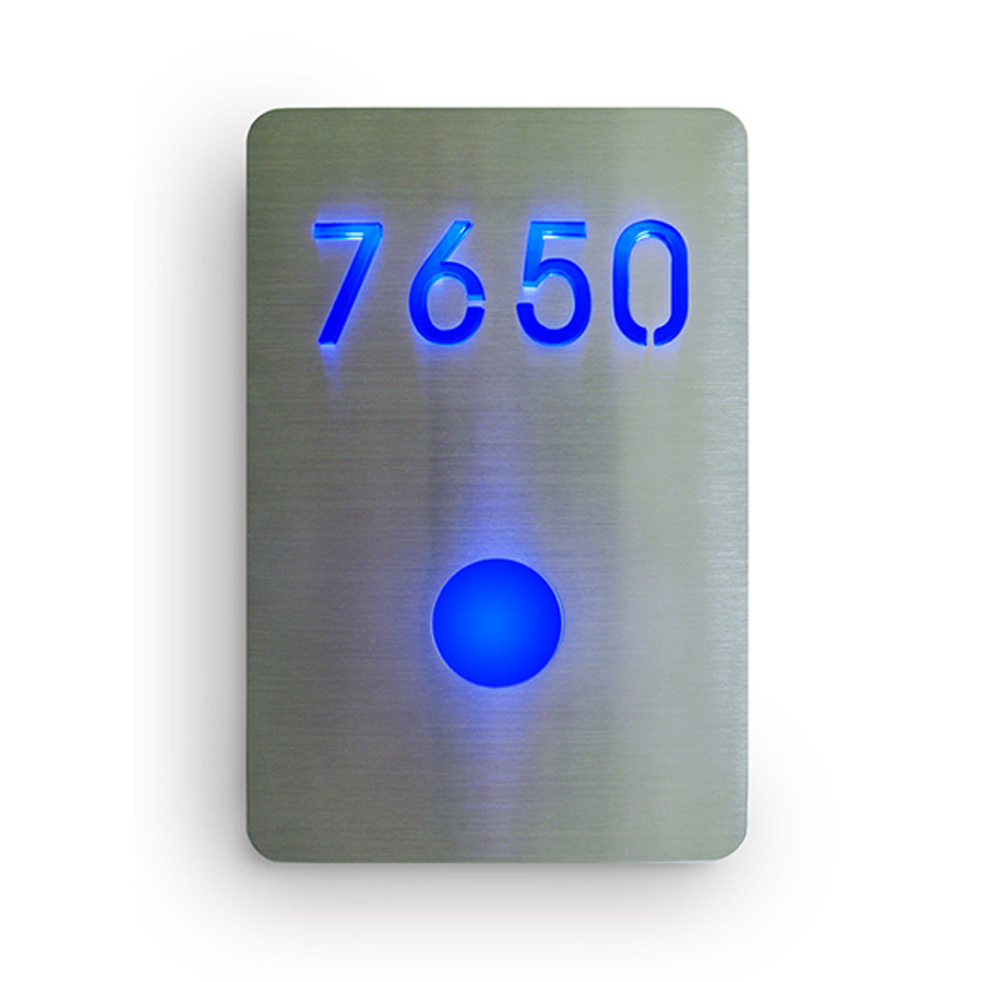 LED Room Number Sign by Luxello