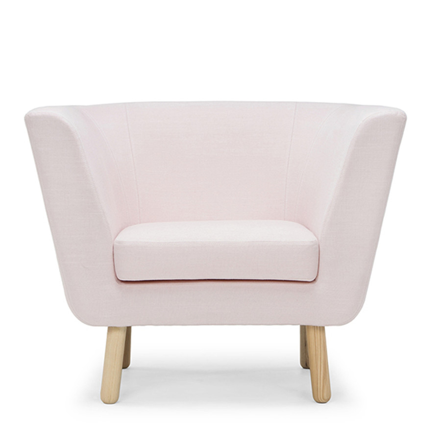 Design House Stockholm Nest Arm Chair in Pink