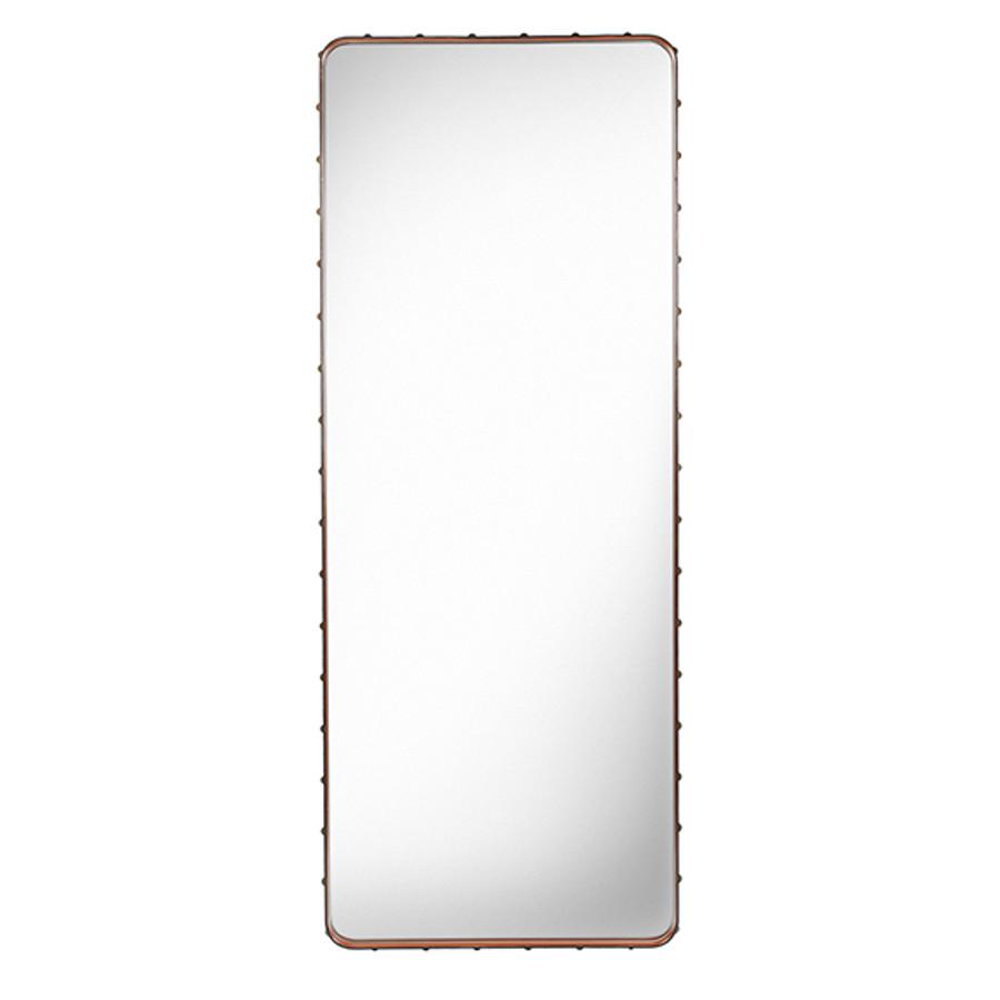 Gubi Adnet Rectangulaire Mirror L in Tan
