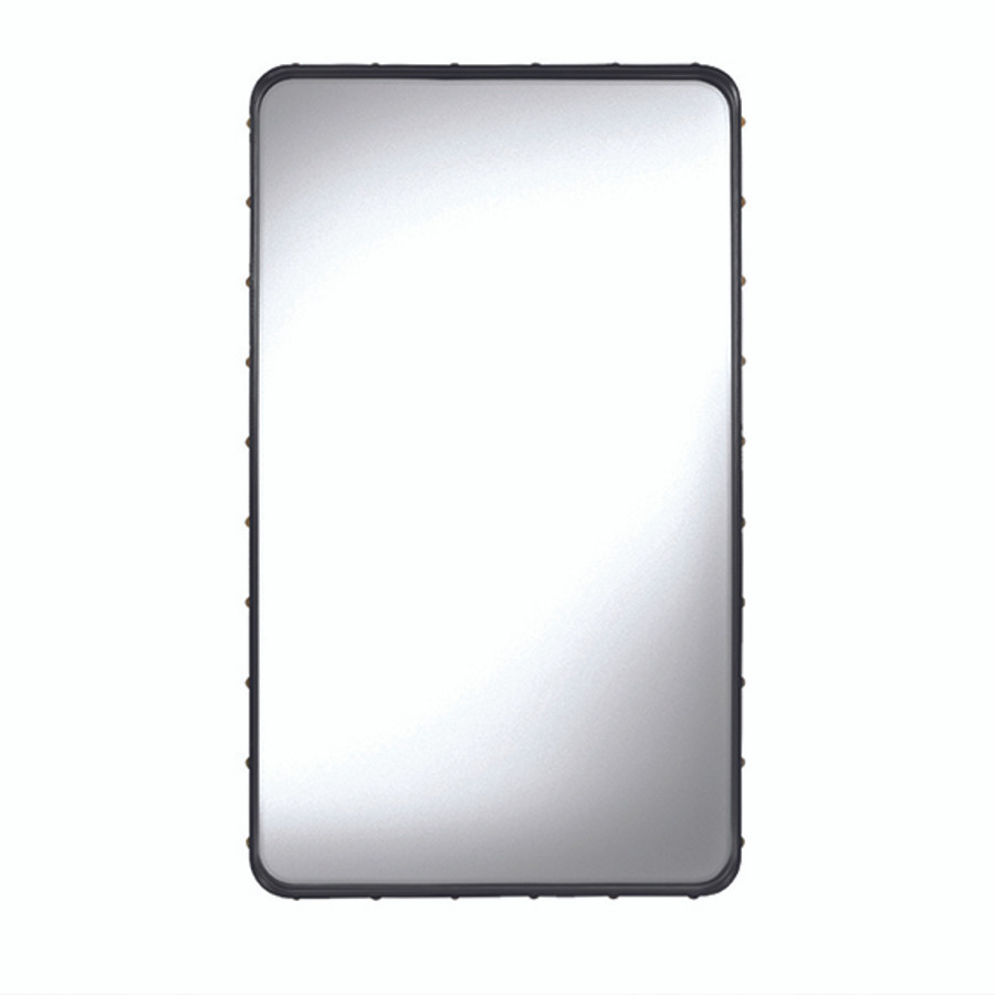 Adnet Rectangulaire Mirror M in black